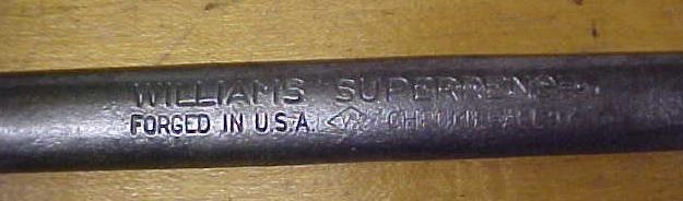 Williams SUPERRENCH Combination Box Wrench 1.0 inch