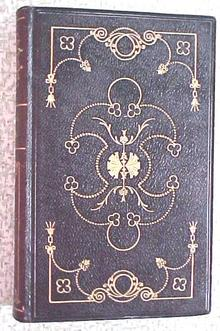 Robert Burns Poetical Works Leather 1839