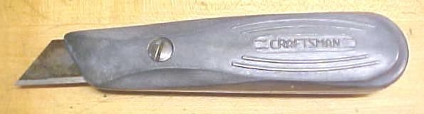 Craftsman Razor Carpet Knife