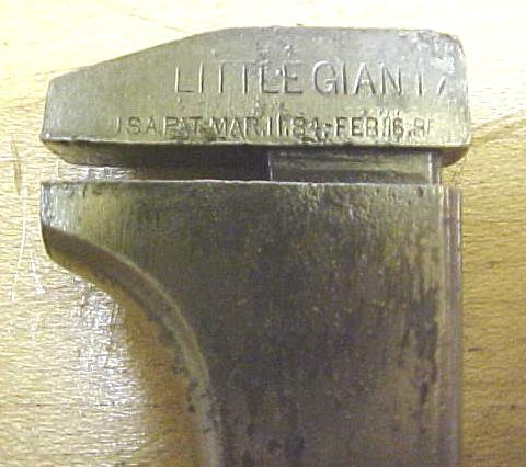 Jeralde & Lawton Little Giant Bicycle Wrench Pat. 1886