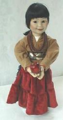 Doll Autumn Harvest Ray Swanson Porcelain