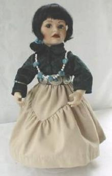 American Indian Doll Navaho Little One Ray