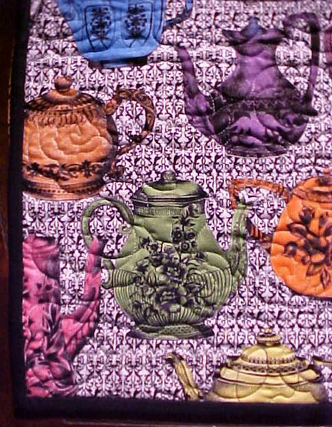 Quilted Table Runner - My Teapot Collection