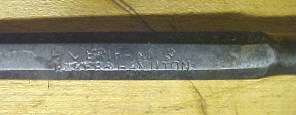 Baker & Hamilton Socket  Firmer Chisel 3/8