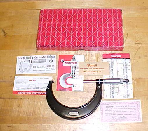 Starrett  Outside Micrometer 3-4