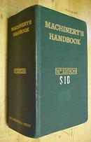 Machinist Machinery's Handbook 1962