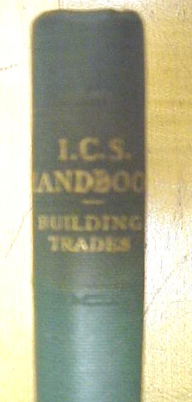 The Building Trades Handbook 1942 Miniature