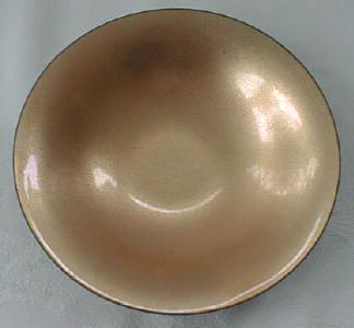 Enamel on Copper Floral Plate + Dish