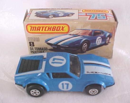 Matchbox DE TOMASO PANTERA No. 8 NMIB