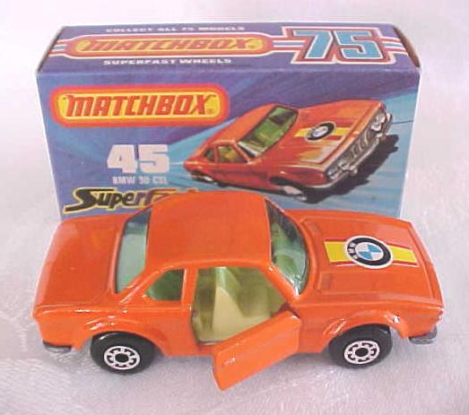Matchbox No. 45 BMW 30 CSL MIB