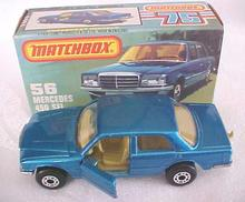 Matchbox No. 56 Mercedes 450 SEL MIB