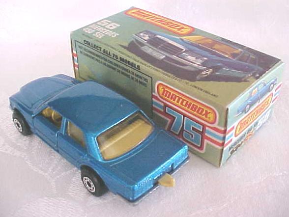 Matchbox No. 56 Mercedes 450 SEL MIB