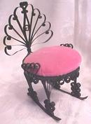 Miniature Settee & Chairs Victorian Doll House 4 PC