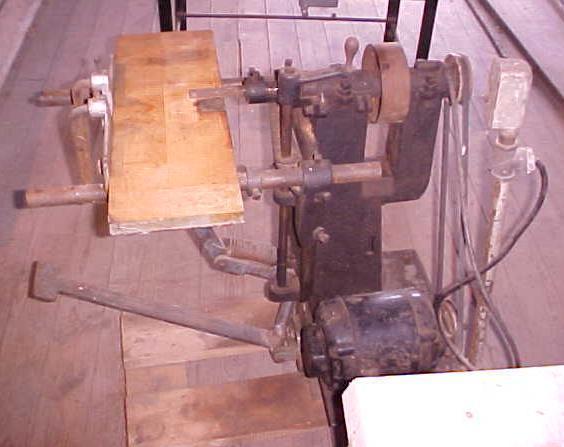 Horizontal Mortise Boring Machine Antique