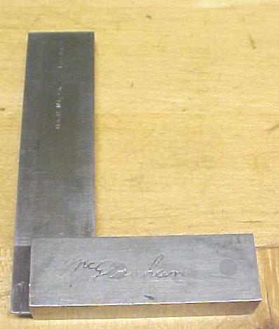 Brown & Sharpe No. 540 Precision Try Square 3