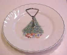 Noel Christmas Plate Salem