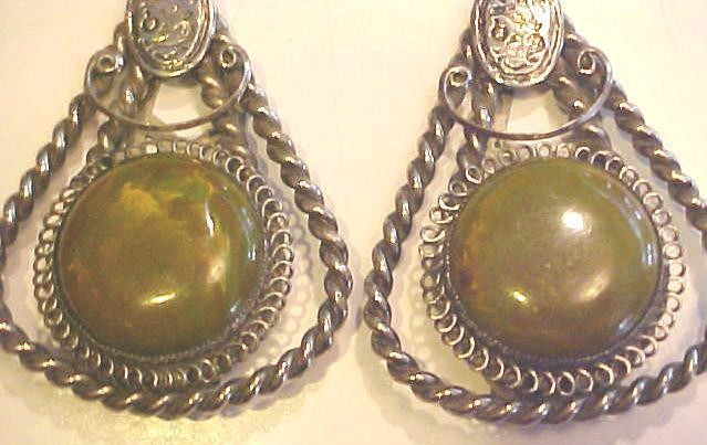 Antique Shoe Clip Pair