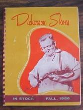Dickerson Shoes Catalog 1956