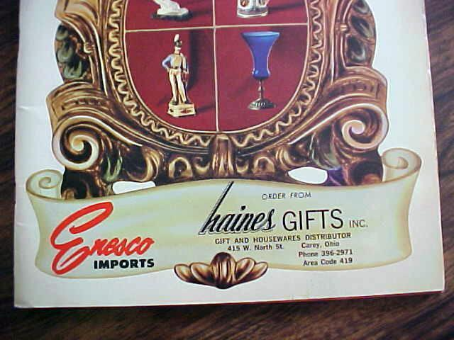 Haines Gifts Catalog Enesco Imports 1969
