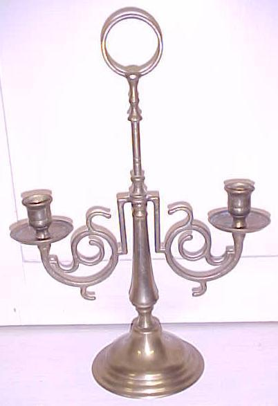 Brass Candelabra Candle Holder