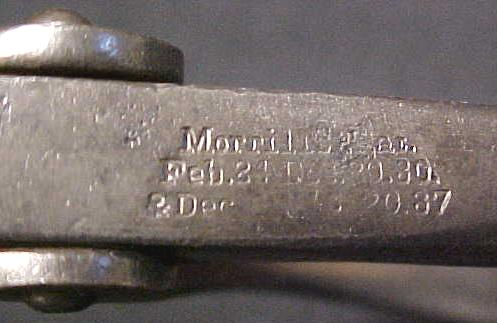 Morrills Pat. 1887 Improved No. 1 Saw Set Antique