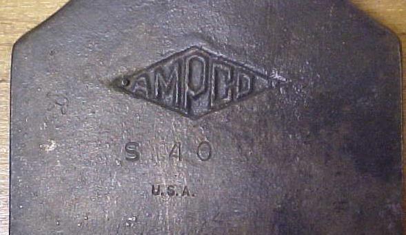 AMPCO Scraper S40 Beryllium 3 inch Wide