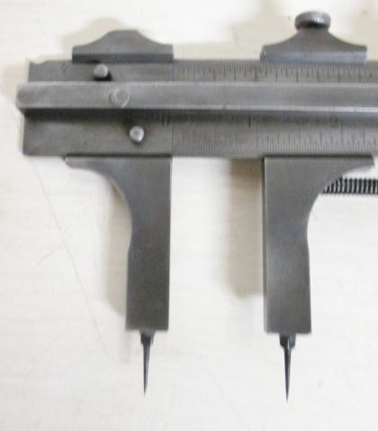 Starrett Vernier Caliper Rule 48 inch Point Tips