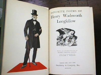 Favorite Poems of Henry Wadsworth Longfellow