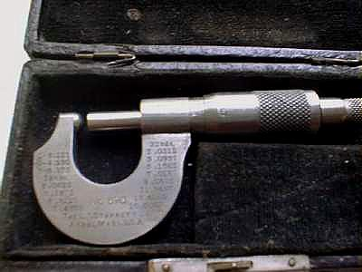 Starrett Tubing Micrometer No. 576 1/2