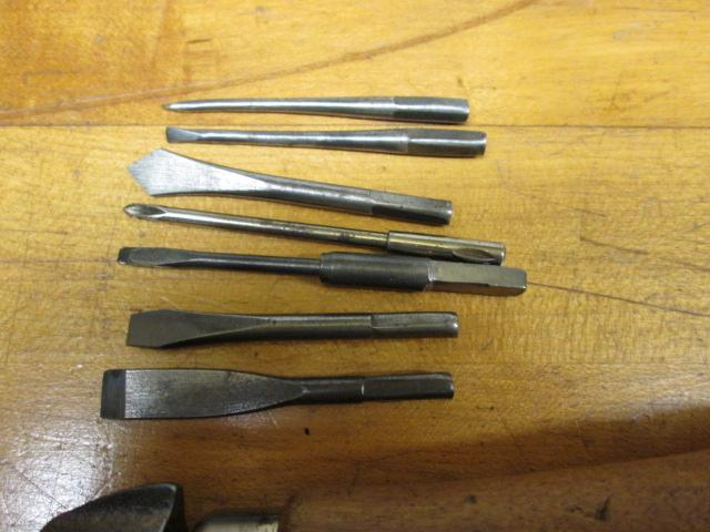 Buell Co. Tool Handle and 7 Tools