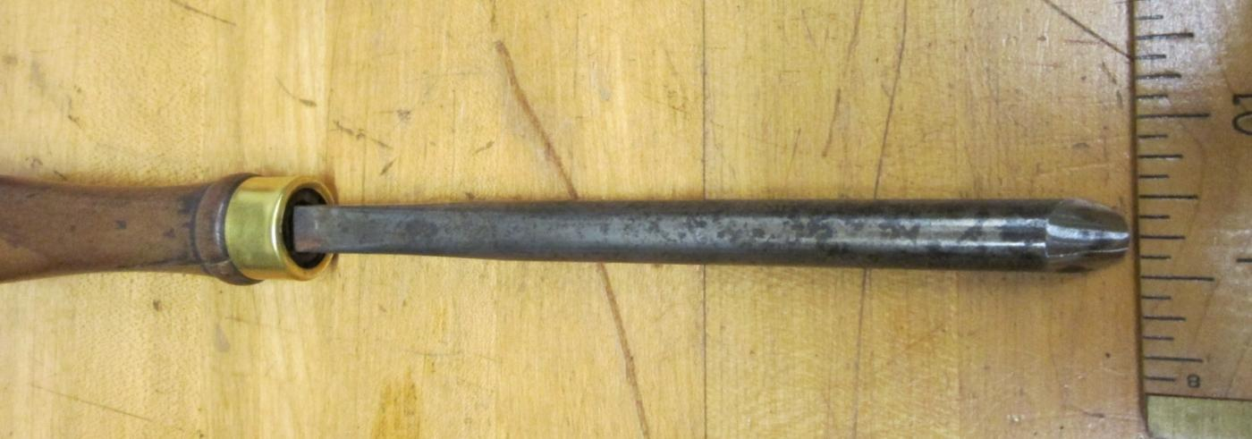 Buck Brothers Tanged Lathe Gouge Chisel 1/2 inch