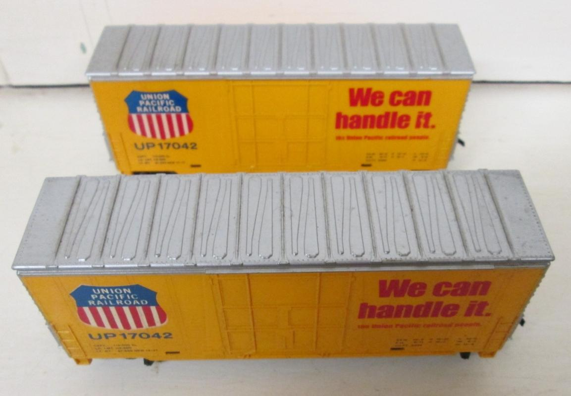 Train Cars HO Scale Union Pacific Railroad Box Car