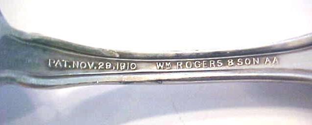 Orange Blossom Teaspoons Rogers Silverplate 1910 6PC
