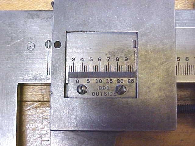 Starrett No. 122 Vernier Calipers 12