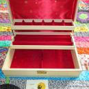 Mele Jewelry Box Leatherette Wooden Key