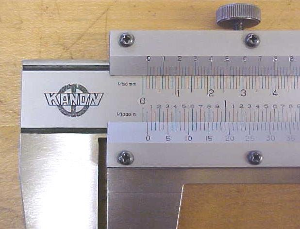 Kanon Vernier Calipers 18 Inch Capacity Stainless Steel