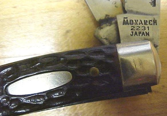 Monarch Stockman Pocket Knife 3 Blade