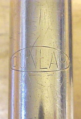Dunlap Spiral Push Drill  w/6 Bits  All Steel Construction