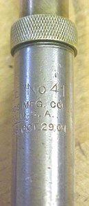 North Bros. No. 41 Yankee Push Drill w/6 Drill Bits 1901