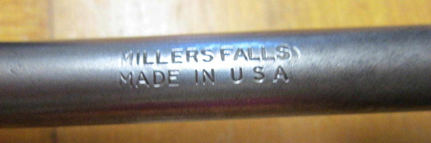 Millers Falls No. 732-10 Ratchet Brace