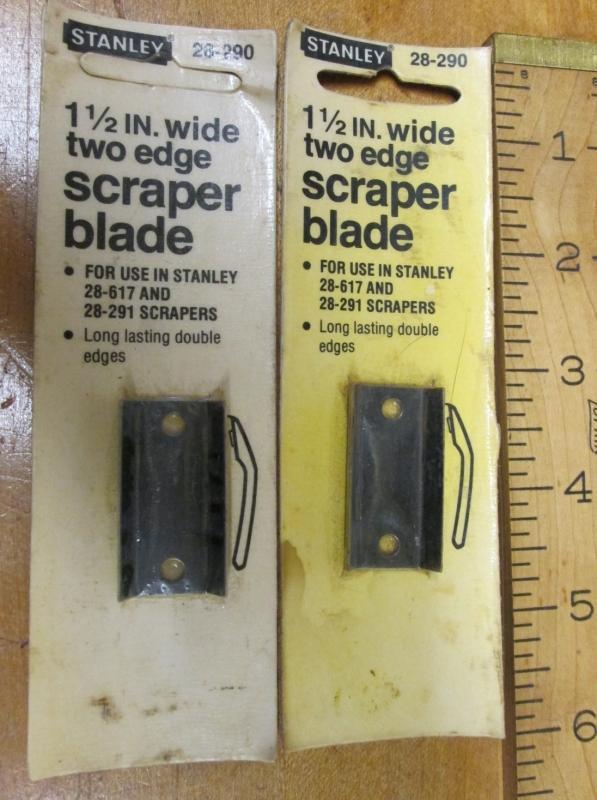 Stanley Hook Scraper Double Blade 1.5