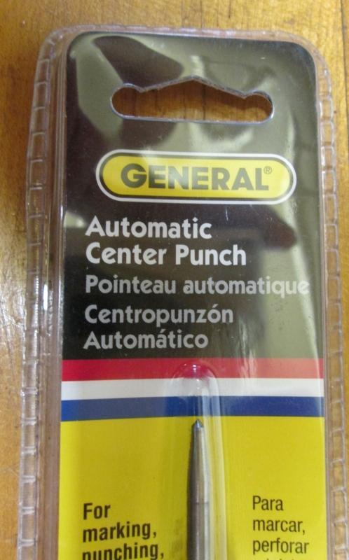 Automatic Center Punch General No. 70079 Aluminum