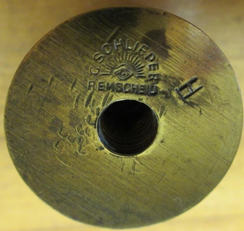 C Schlieper Scale Weight Brass 2 ons