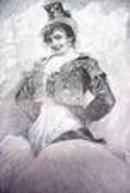 Spanish Lady Carmen Print 1892 Ornate Frame