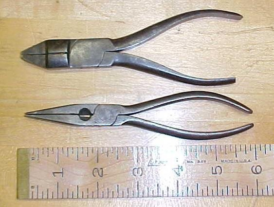 2 Pair of Antique Pliers Made in Germany
