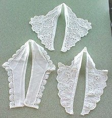 Vintage Lace Collars 3PC Ladies