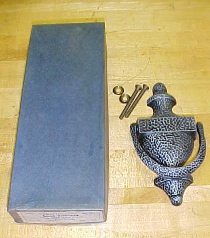 Antique Hammered Door Knocker in Original Box