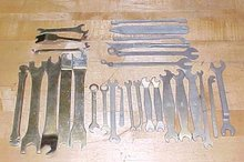 Office Machine Wrenches  Large Group