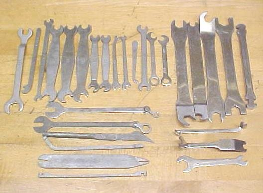 Office Machine Wrenches Large Group Vintage