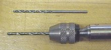 Stanley No. 43 Push Drill w/Straight Shank Drill Adapter